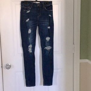 RIPPED  jeans - great pre-loved condition
